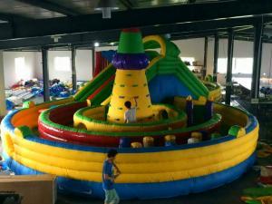 China Eco Friendly Bouncer Castle Inflatable Amusement Park Blow Up Princess Jumping Castle on sale