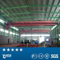Yuantai Brand workshop double girder overhead bridge crane foe promotion of factory price