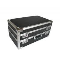 China Double Opened Aluminum Hard Case With Black Diamond Panel on sale