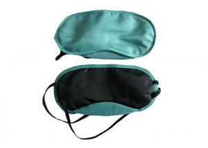 China Cor verde de Eyemasks da venda lisa do sono do curso para o avião/trem/ônibus on sale
