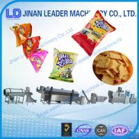 Expanded Puffing Grain Corn Rice Snack Stick Making Machine