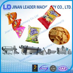 China Expanded Puffing Grain Corn Rice Snack Stick Making Machine on sale