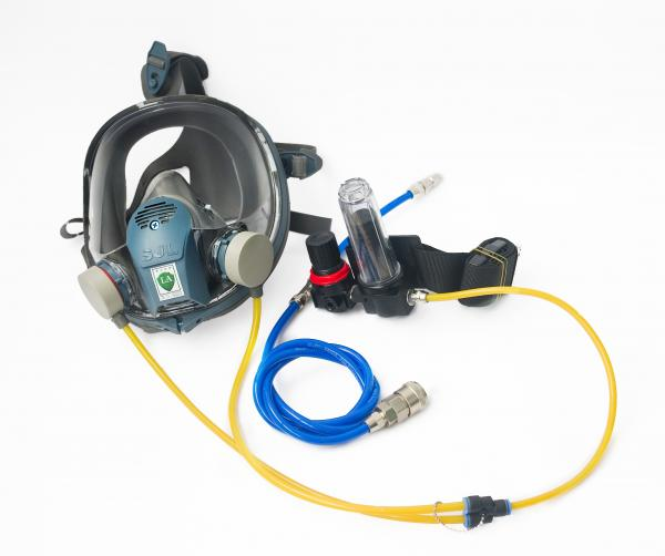 Fb 8509 Safety Rubber Gas Mask Full Face Respirator Mask Chemical