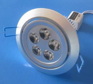 China Aluminum 5 x 1W Recessed LED Downlight  85V - 265V AC for Hotel, Restaurant, KTV Lighting on sale