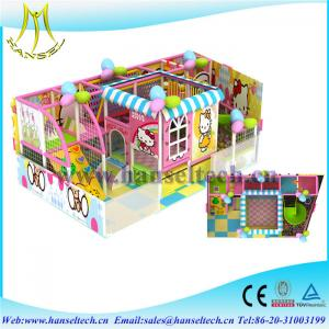 China Hansel top sale soft play houses indoor and outdoor for children on sale