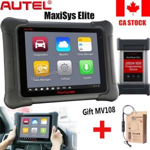 China New  Autel MaxiSYS Elite OBDII Car Tools Diagnostic Scanner ECU Program J2534+MV108 2GB RAM & 32GB Embedded Memmory on sale
