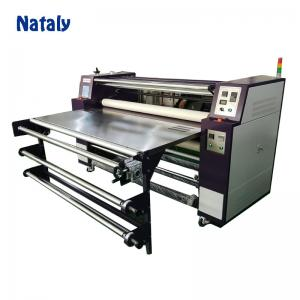 China Factory supply oil drum roller sublimation heating transfer press machine on sale