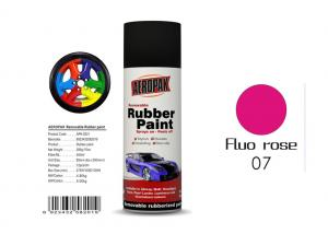 China 0.3 Pressure Inside Rubber Based Spray Paint Fluo Rose Color With SGS Certificate on sale