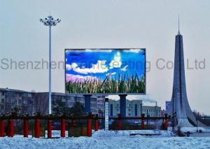 China Waterproof Big Outdoor Full Color LED Video Display Advertiting P10 SMD Electronic LED Digital Billboards on sale