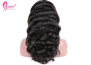 China Brazilian Custom Full Lace Wigs Virgin Human Body Wave Weave Natural Looking on sale