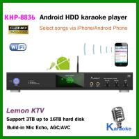 Factory wholesale  Android Karaoke player ,Support MKV/VOB/DAT/AVI/MPG songs ,songs encryption