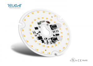 China Cool / Warm White 2835/5630 SMD LED Module , Round Led Pcb Mudule Board With Sensor on sale