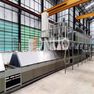 China Intelligent Automatic FRP fiberglass multifunctional production line/FRP sheet/gel coat sheet/gutter making machine on sale