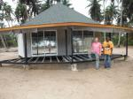 New design Prefab Bali Bungalow , Overwater Bungalows For Seaside