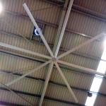 Big Ass Commercial Ceiling Fans High Volume Low Speed 12 Foot Ceiling Fan With 8 Blades