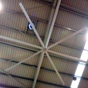 China Big Ass Commercial Ceiling Fans High Volume Low Speed 12 Foot Ceiling Fan With 8 Blades on sale