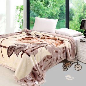 China 100% Polyester Thick Mink Blanket &Raschel Blanket Polyester Blanket on sale