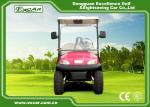 Pink Electric Car With Open Cargo/ Trojan Battery/Curtis Controller 3700W
