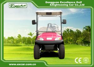 China Pink Electric Car With Open Cargo/ Trojan Battery/Curtis Controller 3700W on sale