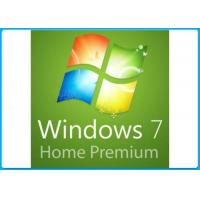 International Win 7 Home Premium DVD , Windows 7 Home Premium 64 Bit COA License