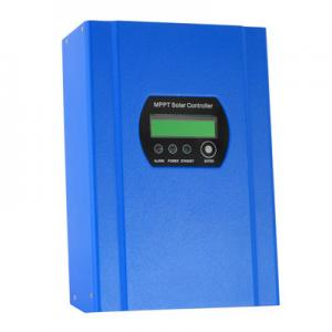 China Smart solar charger controller with MPPT DC12/24/48V auto sensing 40A on sale