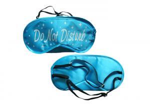 China Light Shading Sleep Blindfold Eye Mask Satin Eyemask Wearing At Night on sale