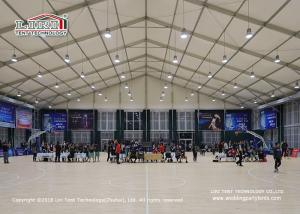 China Double Decker Tent for basketball field with high quality aluminum frame fire retardant on sale