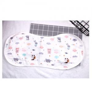 China Baby Bandana Muslin Burp Cloths Reversible 100 Muslin Cotton Multi Color on sale