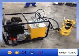 China Outil à sertir hydraulique motorisé de compresseur hydraulique avec le moteur à essence 100 tonnes 200 tonnes on sale