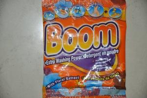 China Highly Effective 30G BOOM white color hand washing laundry detergent powder on sale
