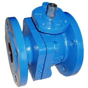 China Manual / Gear / Electric / Pneumatic Floating API 598 / API 6D Ball Valve, 1/2 - 8 size on sale