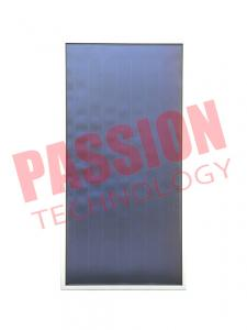 China Flat Panel Thermal Solar Collector Low Iron Tempered Woven Glass Material on sale