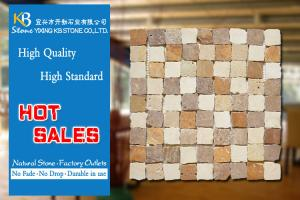 China Interior Home Decoration Ceramic Floor Tiles Broken Edge Square Shape on sale