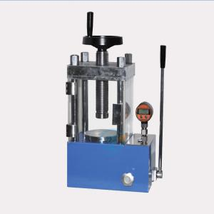 40T hydraulic manual powder press machine with optional