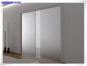 China Energy saving frosted , dark  Acid Etched Glass for Fixed and sliding partitions on sale