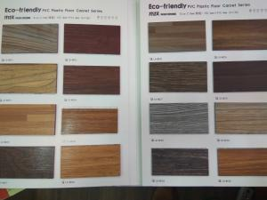 China 6*36 Wood-pattern PVC Floor Tile, 2.0mm thickness, with 0.15 wear layer on sale