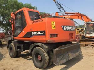 China Doosan DH150 Wheel Excavator on sale
