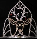 Elk crowns custom deer christmas pageant crowns for holiday pageant crowns wholesale crystal pageant crowns and tiaras
