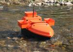Radio controlled bait boat DEVC-202 orange ABS engineering plastic