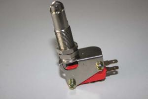 China Silver Point 16A Micro Limit Switches Panel Installation Of Roller Plug Column supplier