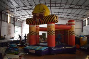 China Small Size 0.55mm PVC Tarpaulin Inflatable Jump House / Kids Jumping Castle supplier