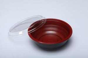 China Durability PP Plastic Microwavable Disposable Food packaging Rice bowl on sale