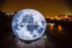 China 3m Huge Helium Balloon for National Day Holiday Decorations , Parade Balloon Mid autumn moon on sale