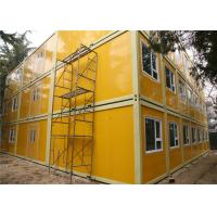 Cost Effective And Galvanized Three Storeys Demountable Container Building For Beijing Children Hospital