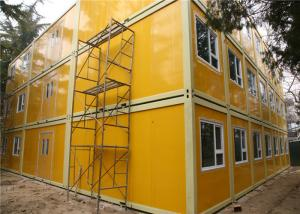 China Cost Effective And Galvanized Three Storeys Demountable Container Building For Beijing Children Hospital on sale