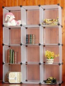 China plastic diy cube storage shelf/shoe rack on sale