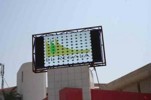 China P6 / P10 / P20 3528 SMD LED Video Wall Panels , Outdoor Large Screen Display Solutions on sale