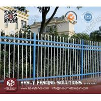Ornamental Steel Fence (Residential Fence Application)