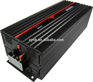 China 24VDC to 120VAC 60Hz 6000W Pure Sine Wave Solar Power Inverter on sale