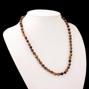 China Hand Made Crystal Beading Chain Nacklace on sale